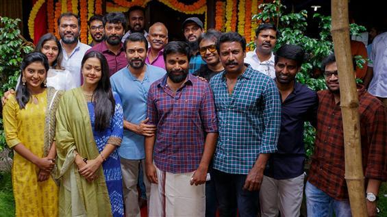 Sasikumar, Jyotika begin film under Suriya's production!
