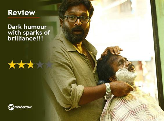 Savarakathi Review - Dark humour with sparks of br...