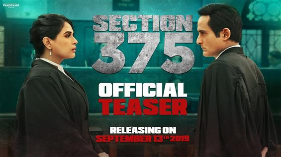Section 375 Teaser: Akshaye Khanna fights Richa Chadha in a new courtroom drama