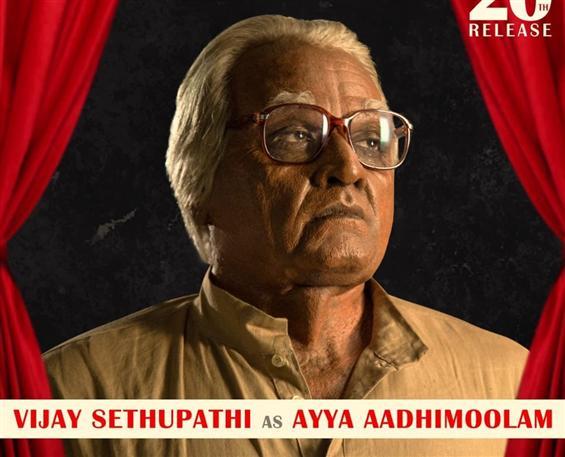 Seethakathi Character Posters: Vijay Sethupathi as...