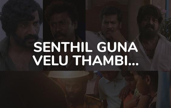 Senthil, Guna, Velu, Thambi - Vada Chennai Dialogu...