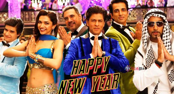 Shah Rukh Khan celebrates one year of Happy New Year with hilarious blooper video of the film