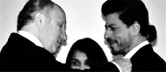 Shah Rukh Khan honoured with 'Legion of France'