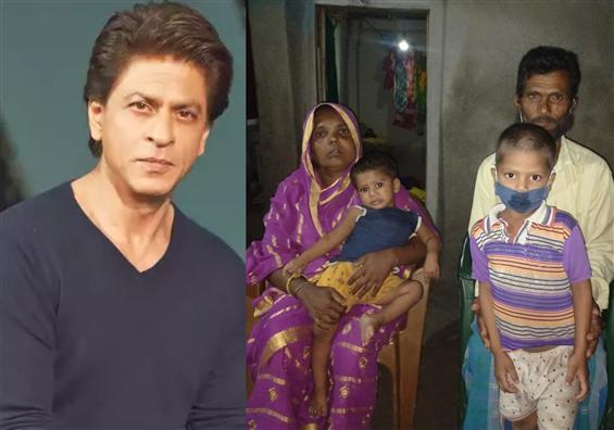 Shah Rukh Khan wins hearts by reuniting orphaned k...