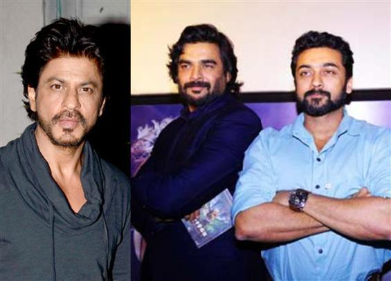 Shahrukh Khan & Suriya in Madhavan's Rocketry: The Nambi Effect!