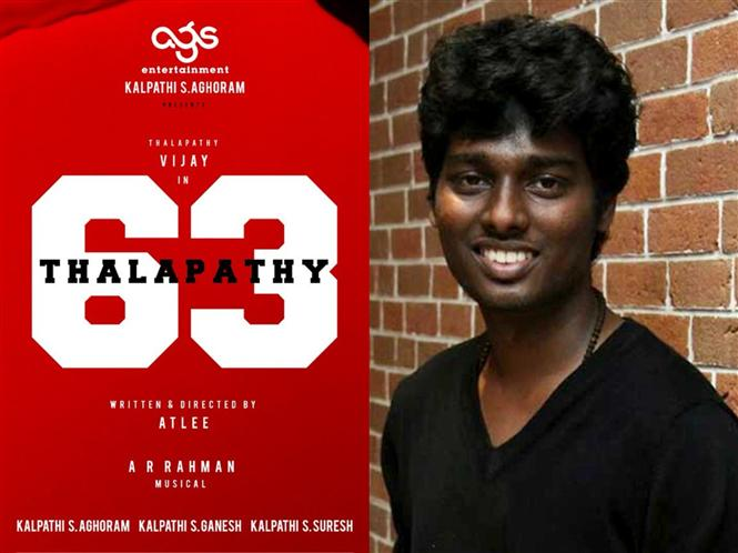 Shocking: Thalapathy 63 artiste files police complaint against Atlee!