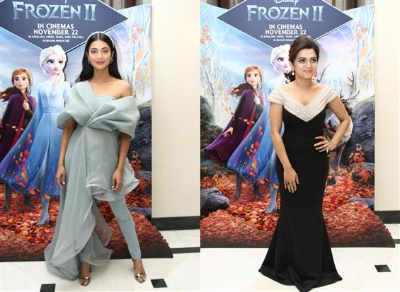 Shruti Haasan, Divya Darshini Voice for Elsa & Ann...