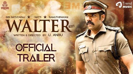 Sibi Sathyaraj's Walter Trailer: A gripping crime ...