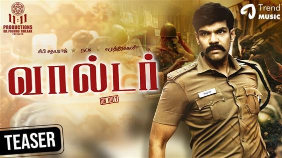 Sibi Sathyaraj's Walter trailer