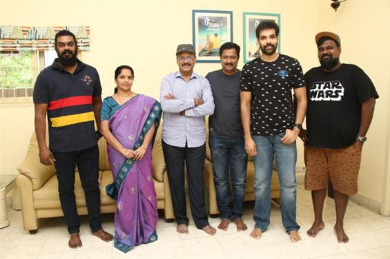 Sibiraj signs one more film with team Sathya!
