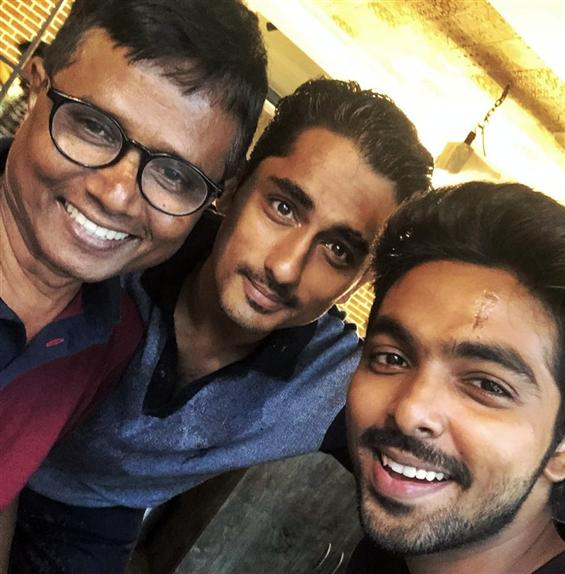 Siddharth and GV Prakash start shooting for Sasi's...