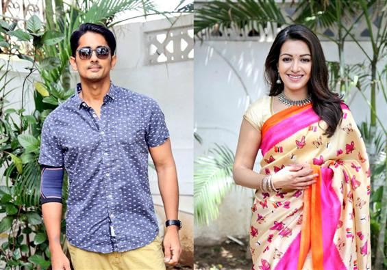 Siddharth, Catherine Tresa begin shooting at Chenn...