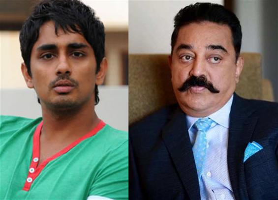 Siddharth to join Indian 2 shooting before Kamal Haasan!