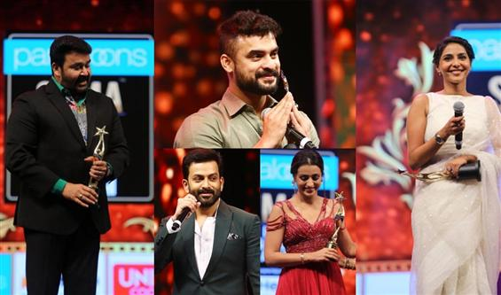 SIIMA 2019 - Complete List of Winners from Malayal...