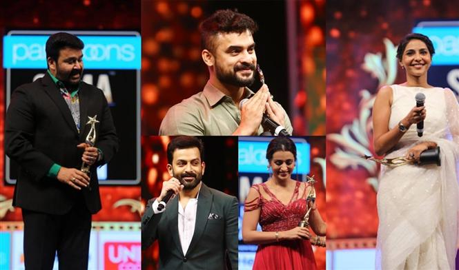 SIIMA 2019 - Complete List of Winners from Malayalam film