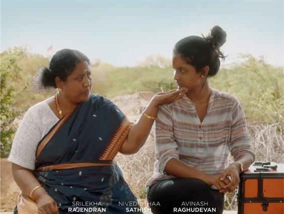 Sillu Karupatti fame Nivedhithaa's next to release...