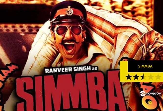 Simmba Review -: Aankh Maaroing all the way to the Bank
