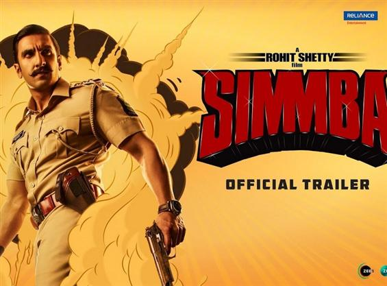 Simmba Trailer starring Ranveer Singh, Sara Ali Khan