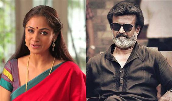 Simran pairs up with Rajinikanth in Karthik Subbar...