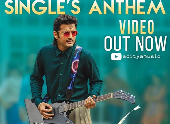 Singles Anthem Video Song from Nithiin, Rashmika s...