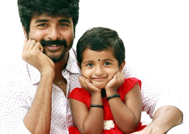 Sivakarthikeyan's daughter makes her singing debut for Kanaa! Tamil