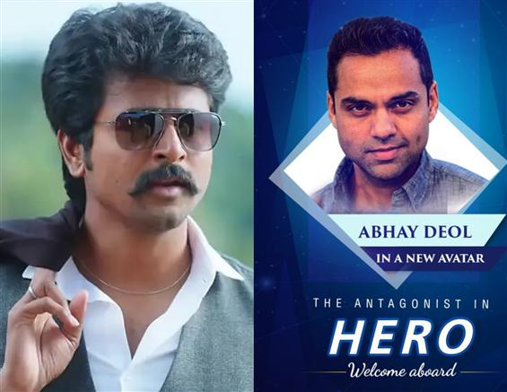 Sivakarthikeyan's Hero gets a Bollywood Villain!