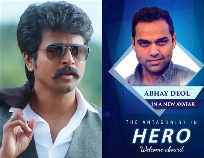Sivakarthikeyan's Hero gets a Bollywood Villain!