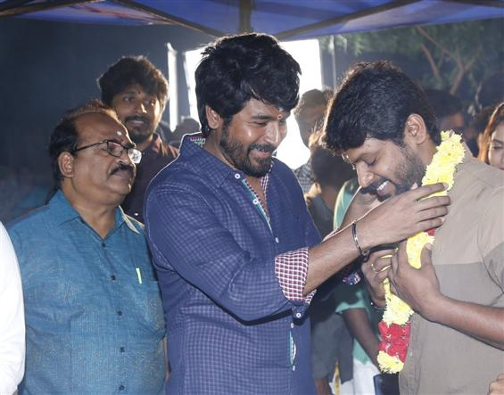 Sivakarthikeyan's Production No. 2 begins shooting!