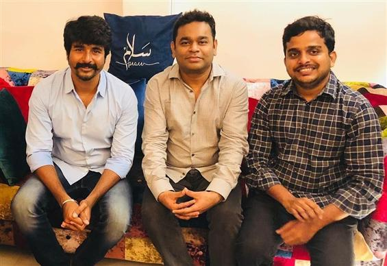 Sivakarthikeyan's sci-fi film begins music session...