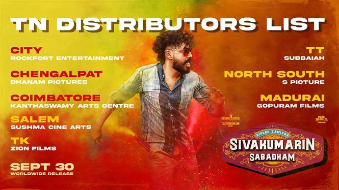 Sivakumarin Sabadham TN Distributors list - All Set for grand release!