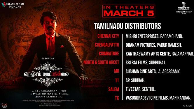 SJ Suryah confirms Nenjam Marapathillai in theaters as planned!