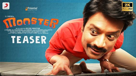 Sj Suryah's Monster Teaser