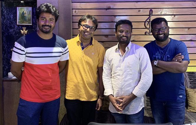 SK 16: Imman kick-starts 'song making' for Sivakarthikeyan!