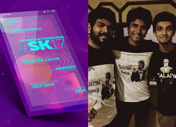 SK 17: Sivakarthikeyan, Vignesh Sivan & Anirudh co...
