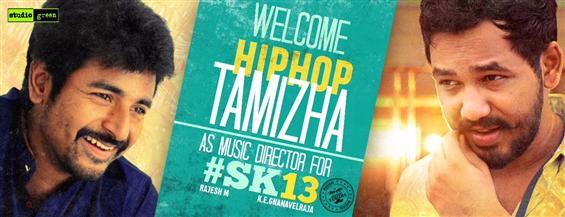 SK13: Sivakarthikeyan's film gets Hiphop Tamizha Aadhi