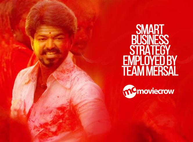 Smart business strategy employed by team Mersal