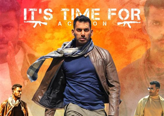 Sneak Peek Videos From Vishal's Action