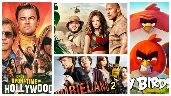 Sony Pictures' official announcements on 2019 seco...