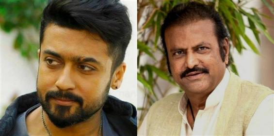 Soorarai Pottru: Mohan Babu joins the cast; Suriya...