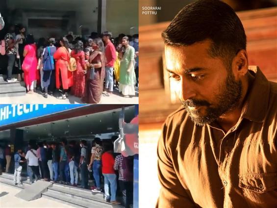 Soorarai Pottru second screening gets overwhelming response!