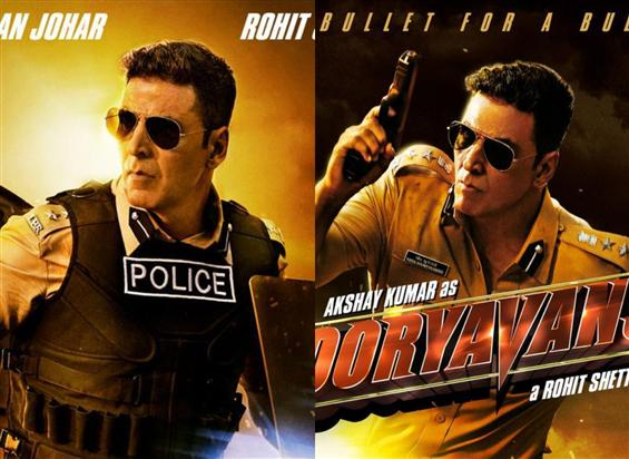 Sooryavanshi First Look Starring Akshay Kumar
