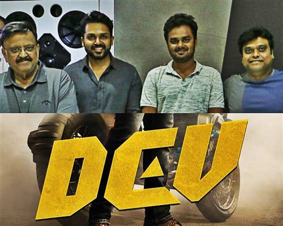 SPB croons for Dev, Karthi ecstatic about having the legendary singer on-board!