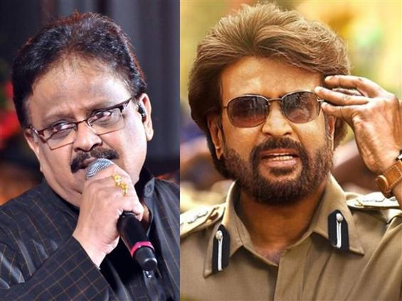 SPB reveals more about his opening song for Rajinikanth's Darbar!