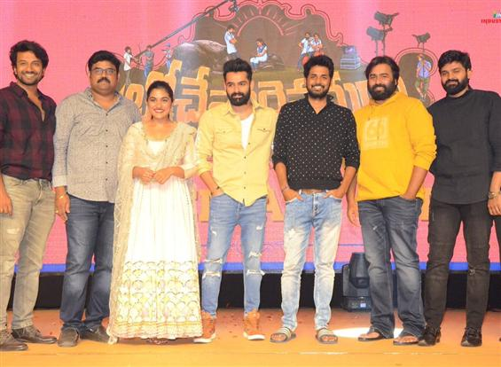 Sree Vishnu's Brochevarevarura Pre-release event a...