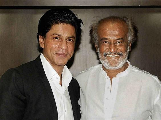 SRK promises lunch at Rajinikanth's if KKR wins IP...