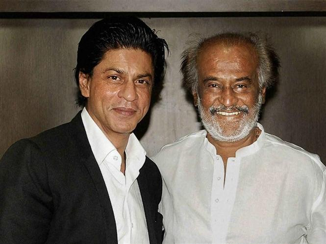 SRK promises lunch at Rajinikanth's if KKR wins IPL Trophy!
