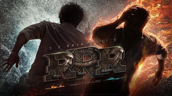 S.S. Rajamouli unveils RRR Movie Release Date, Motion Poster!