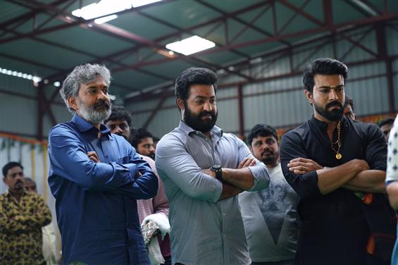 S.S. Rajamouli's RRR launched, Jr. NTR, Ram Charan to begin shooting on this date!