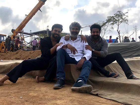 SS Rajamouli's RRR starts rolling today