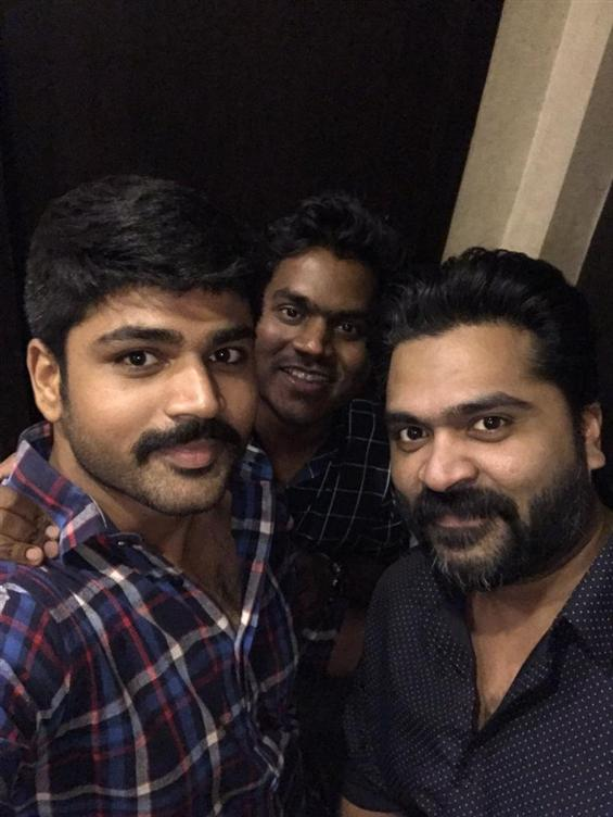 STR sings for Yuvan Shankar Raja again